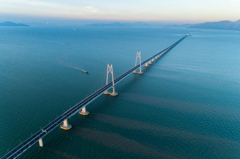 广州往返珠海游船观港珠澳大桥纯玩一天